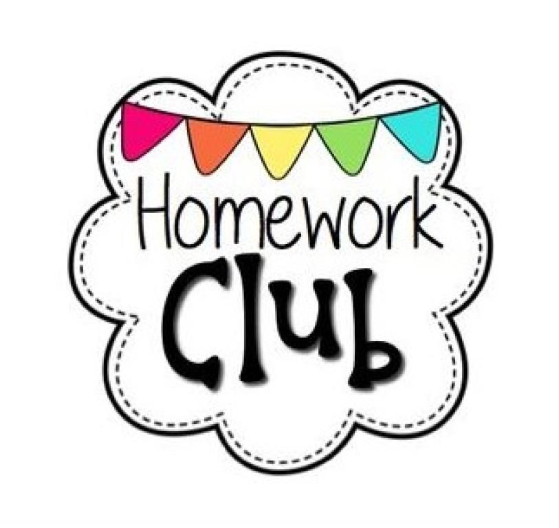 Homework Club Clipart.