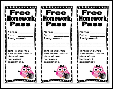 Free Homework Pass Cliparts, Download Free Clip Art, Free.