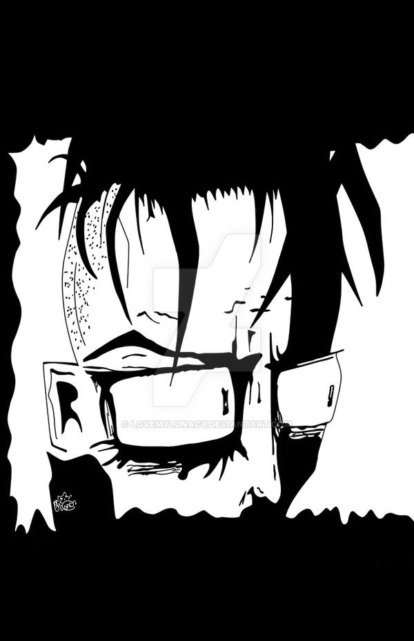 Johnny the Homicidal Maniac Face by LovemyLunacy on DeviantArt.