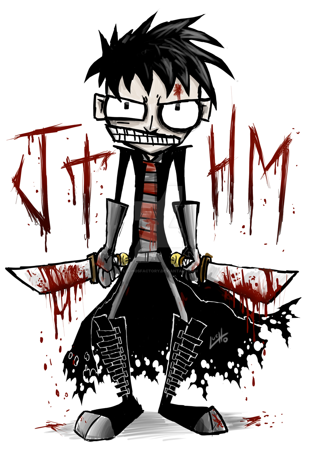 Johnny the Homicidal Maniac by LuchosFactory on DeviantArt.