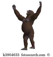 Hominidae Clipart and Stock Illustrations. 37 hominidae vector EPS.