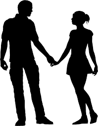 Silhouette homme femme png 2 » PNG Image.