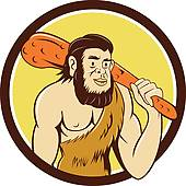 Homo Sapiens Neanderthalensis Clip Art.