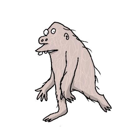Daniel\'s Daily Drawings: Homo Erectus.