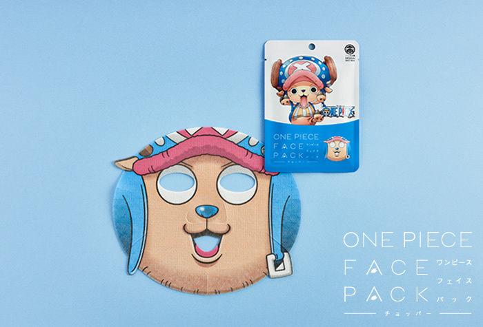 Isshindo Hompo One Piece Tony Tony Chopper Facepack Sheet Mask 1.