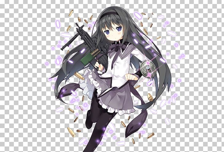 Homura Akemi Anime Madoka Kaname Manga Magical Girl PNG.