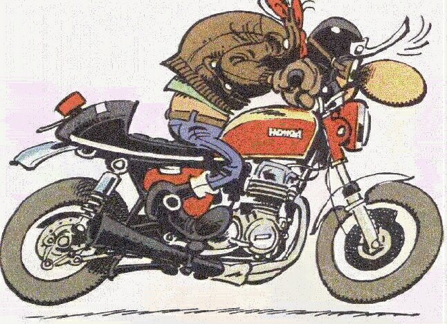 Klassieke motorplaatjes.