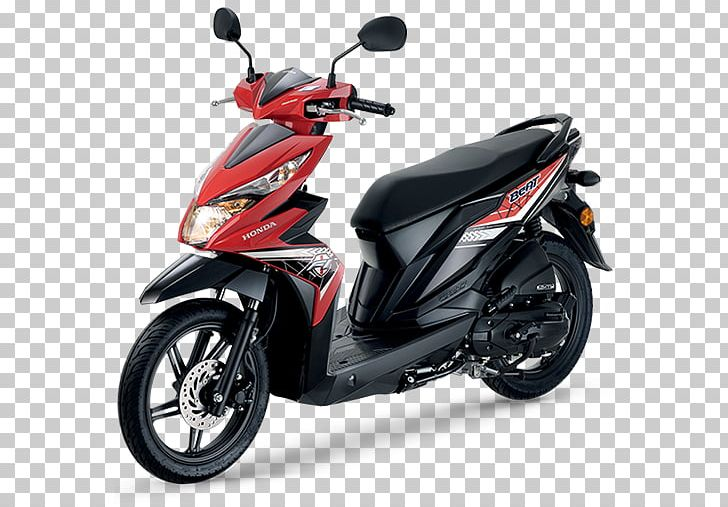 Scooter Honda Motor Company Motorcycle Yamaha Mio Honda Beat PNG.