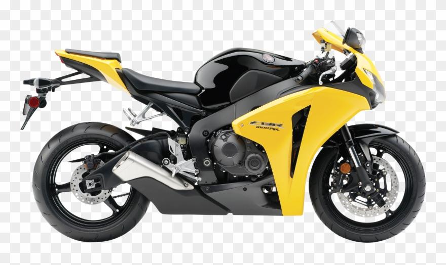 Honda Cbr 1000rr Yellow Motorcycle Bike Png Image Clipart.