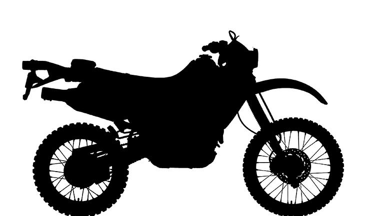 Honda sports bikes clipart.