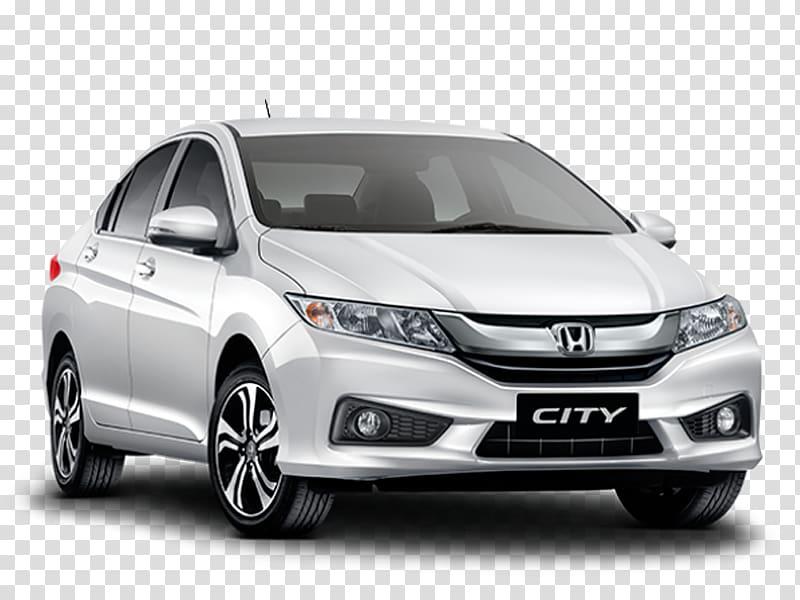 Honda City Car VTEC Honda Fit, honda transparent background.