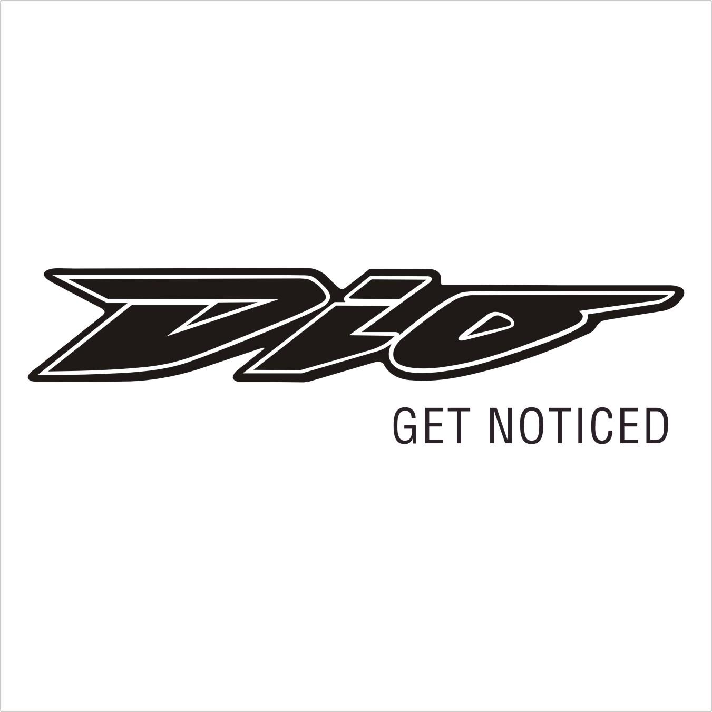 Honda Dio logo.