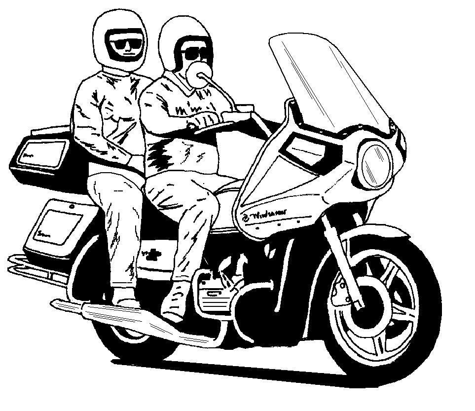 Goldwing Motorcycle.