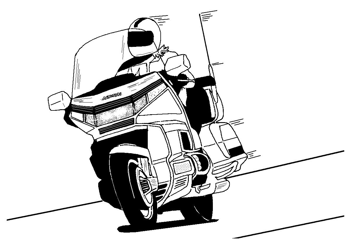 Gallery For > Honda Goldwing Clipart.