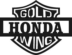Free Honda Goldwing Clipart.