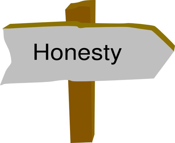 Honesty Clipart.