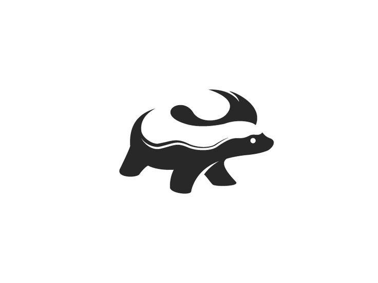Image result for honey badger black and white logo.