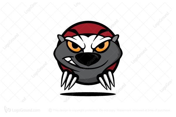 Exclusive Logo 109037, Mad Honey Badger Logo.
