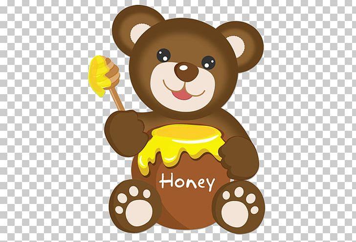 Teddy Bear Brown Bear Honey PNG, Clipart, Bear, Brown Bear.