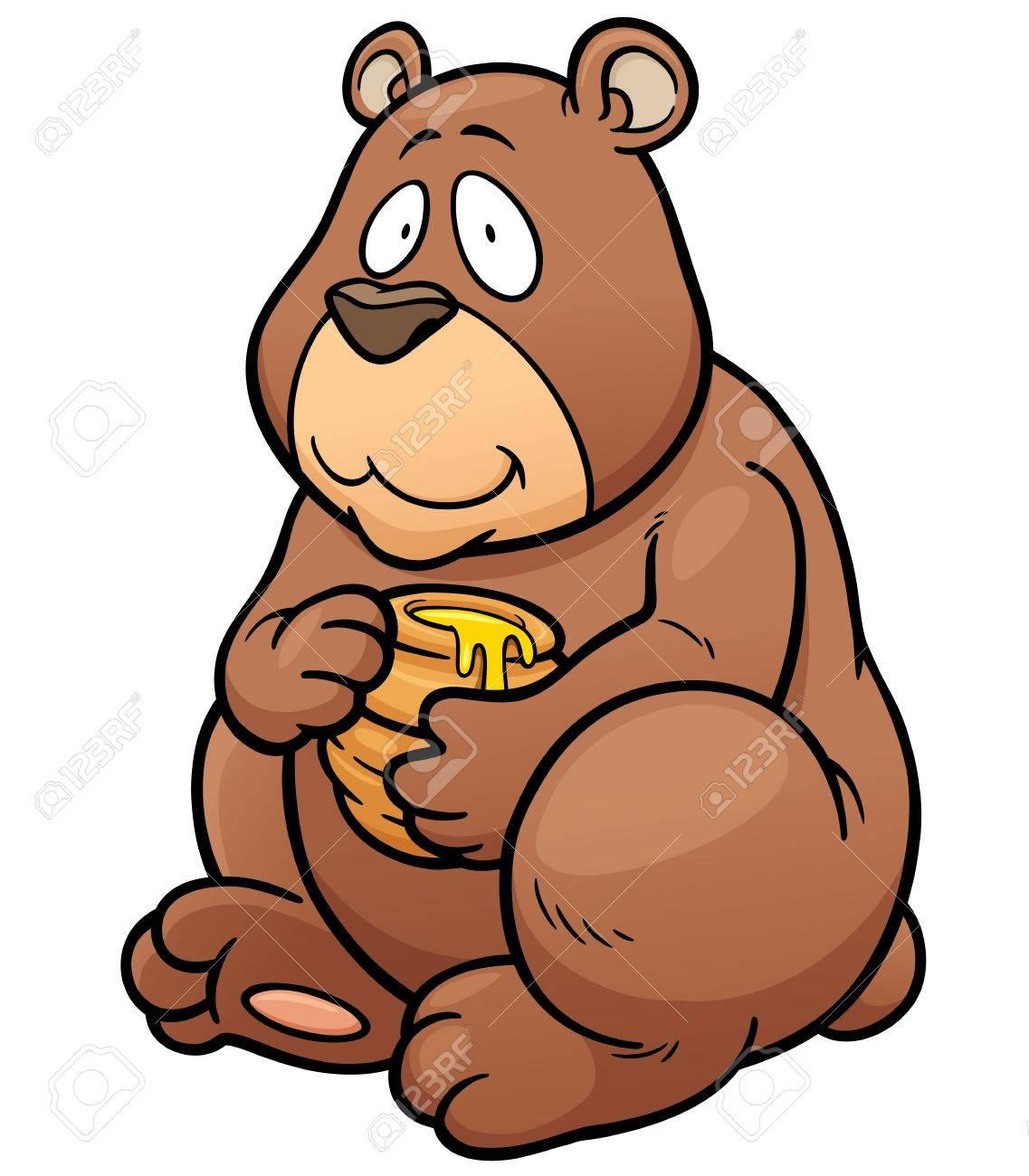 Honey Bear Clipart.