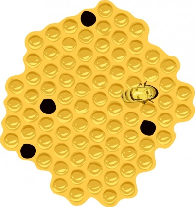 Cartoon bee and bee hive Free vector for free download (about 6.