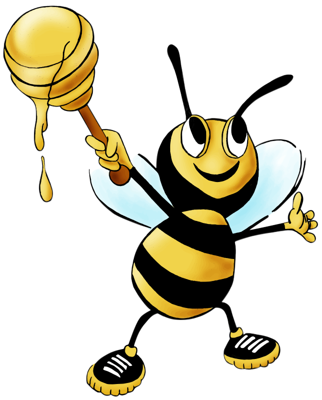 Honey Bee Clipart Images.