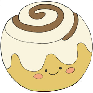 Honey Bun Clipart.