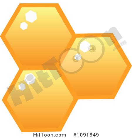 Honeycomb Clipart #1.