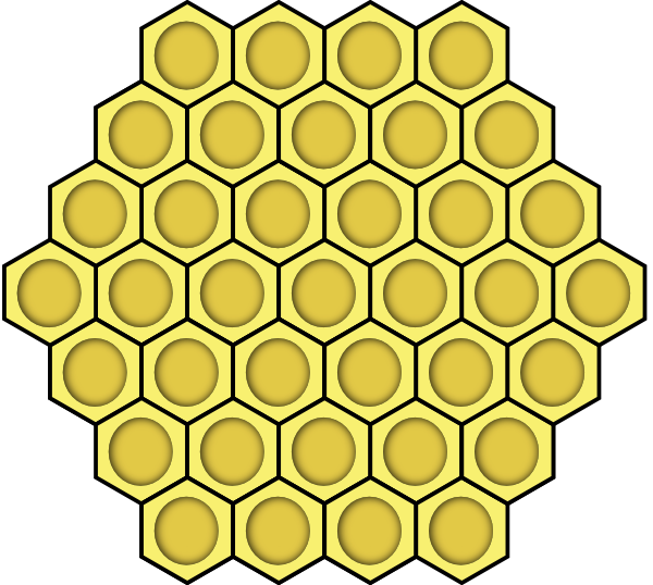Honeycomb Clip Art at Clker.com.