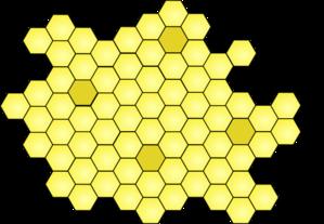 Honey Comb Clip Art at Clker.com.