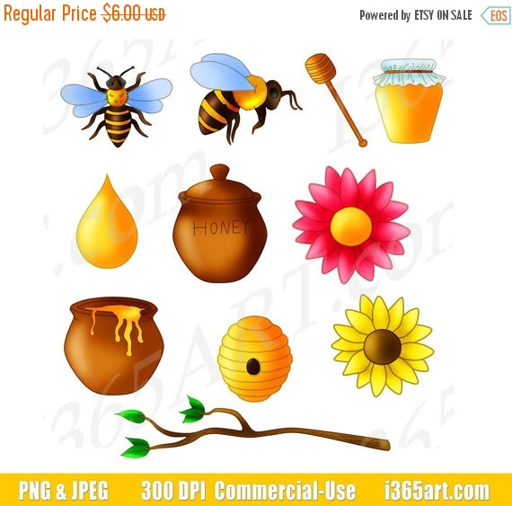 Bee clipart, Honey bees and Off sale on Pinterest.