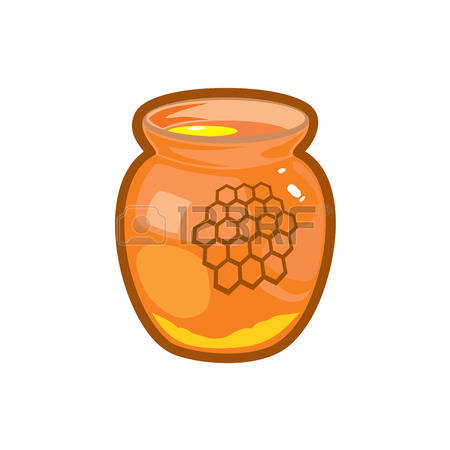 2,630 Glass Of Honey Stock Vector Illustration And Royalty Free.