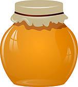Honey Jar Clip Art.