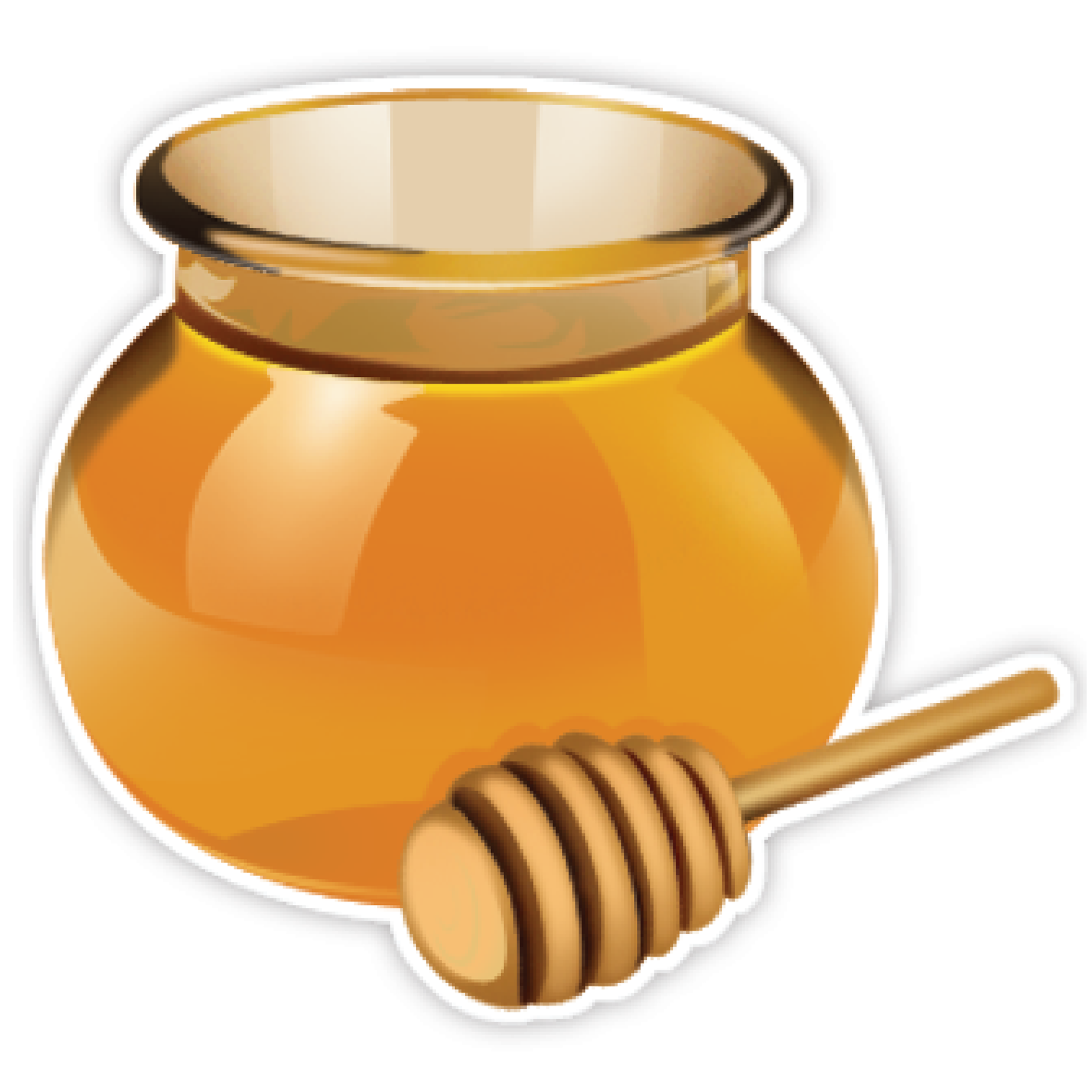 Honey Jar Clip Art.