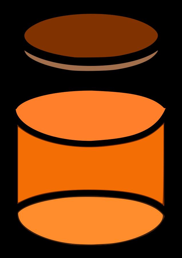 Honey Jar Clipart.