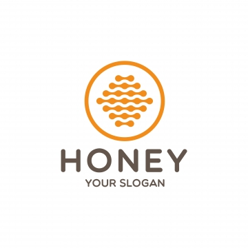 Honey Logo PNG Images.
