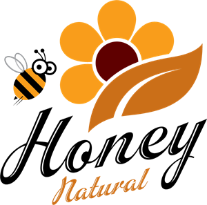 Creative honey Logo Vector (.EPS) Free Download.
