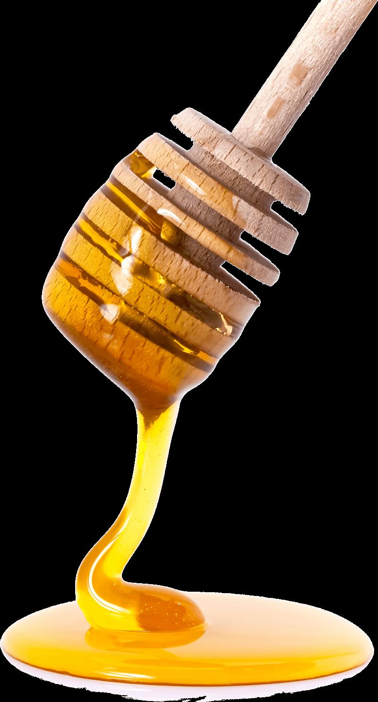 Honey Spoon transparent PNG.