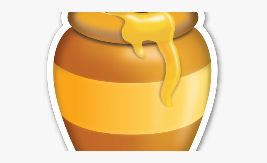 Honey Pot Clipart.