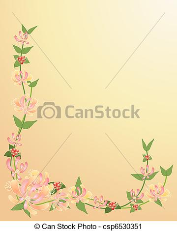 Honeysuckle Clip Art and Stock Illustrations. 144 Honeysuckle EPS.