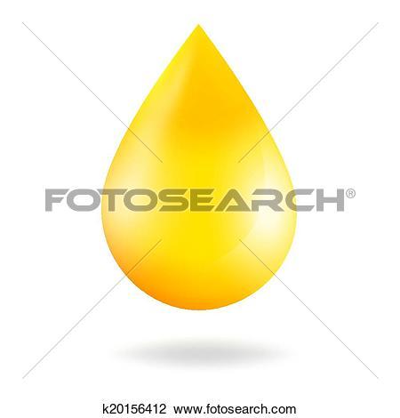 Clip Art of Liquid caramel, Honey. Vector k20262047.