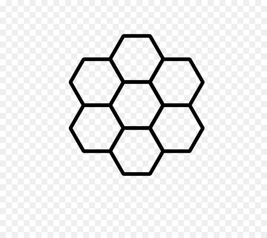 Hexagon Background clipart.