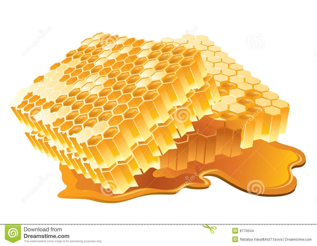 Honeycomb Stock Illustrations.