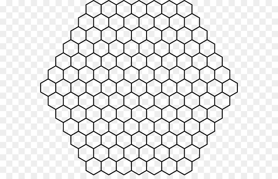 Hexagon Background clipart.