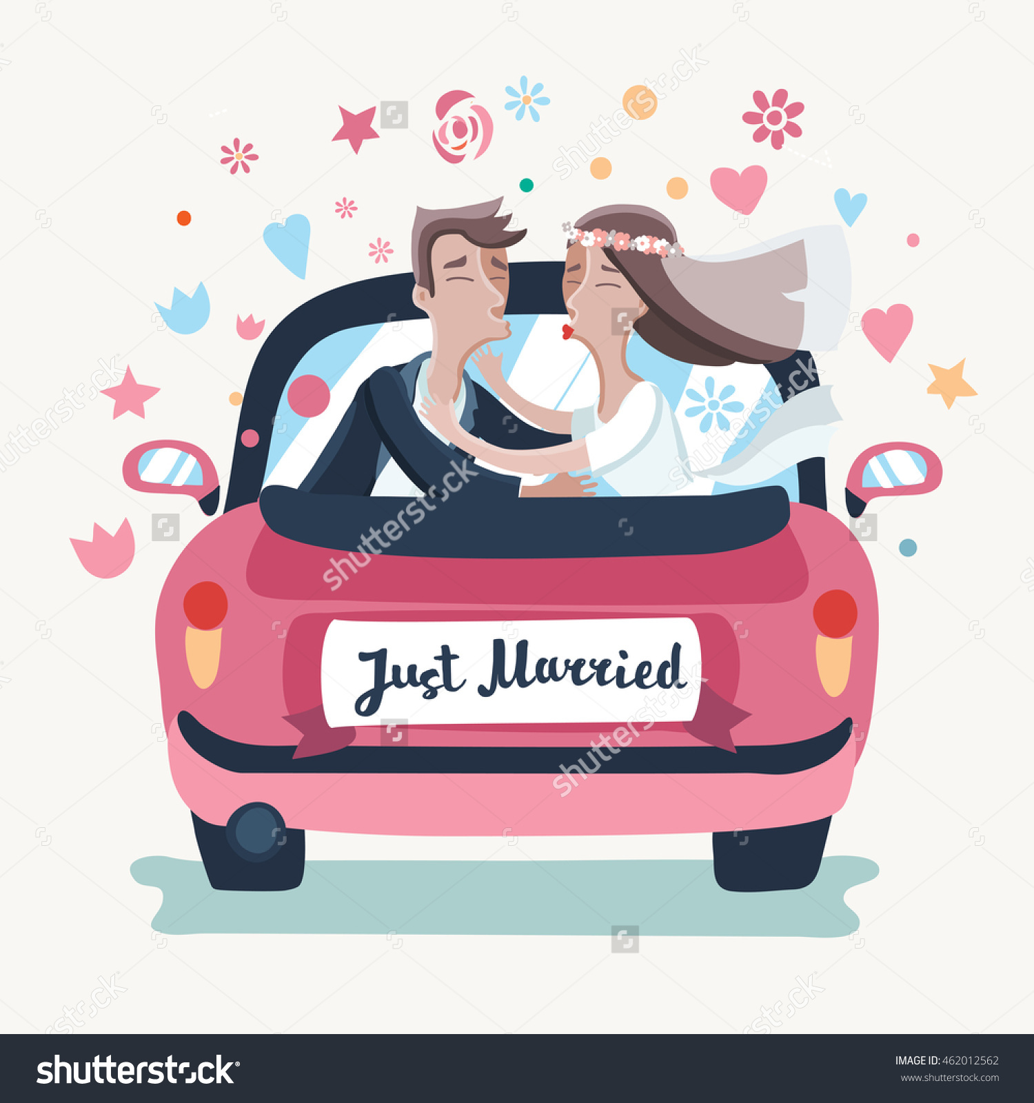 Showing post & media for Honeymoon car cartoon.