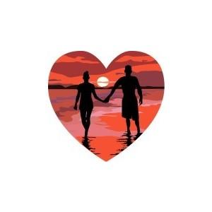 Honeymoon graphics wedding clipart.