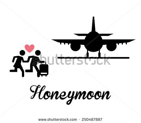 Clipart honeymoon.