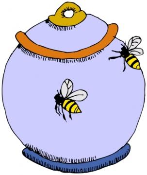 Honeypot Clipart.