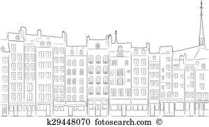 Honfleur Clipart Illustrations. 6 honfleur clip art vector EPS.