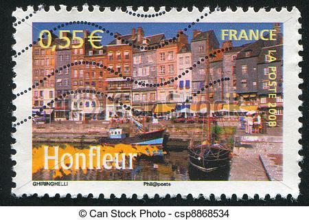 Stock Photo of Honfleur.